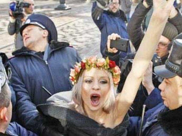 Активистка Femen объявила о ликвидации движения