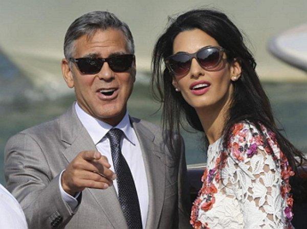 СМИ: Джоржд и Амаль Клуни ожидают двойню