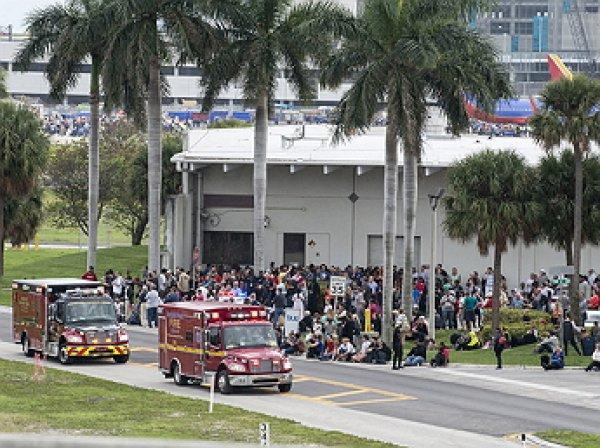 Стрельба в аэропорту Флориды: 5 погибших, 37 раненых (ФОТО, ВИДЕО)
