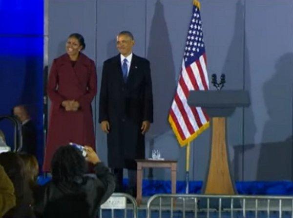 Обама покинул Вашингтон и отправился в Калифорнию на вертолете
