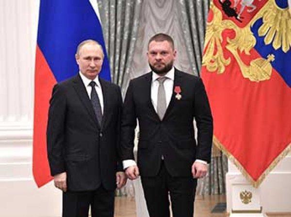 Василий Ливанов и Александр Масляков получили госнаграды из рук Путина