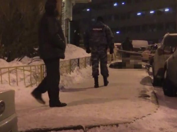 В Москве подозреваемый в убийстве мужчины покончил с собой при задержании (ВИДЕО)