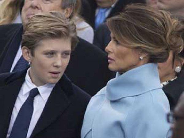 Дочь Клинтона заступила за 10-летнего сына Трампа (ВИДЕО)
