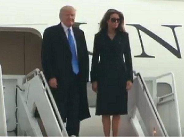 Трамп прибыл в Вашингтон для предстоящей инаугурации