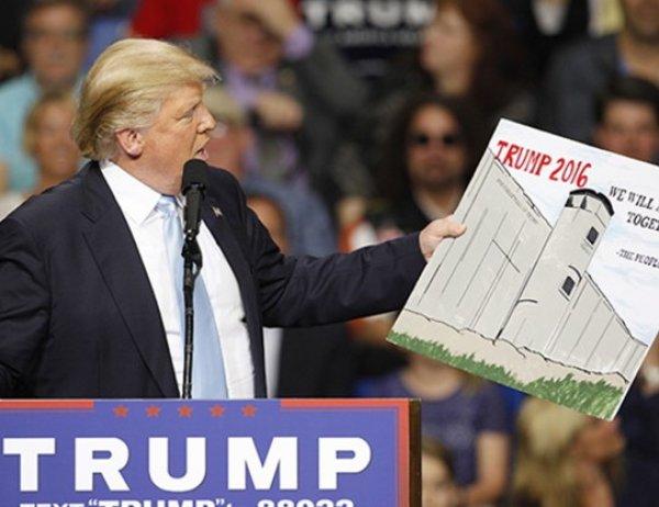 Трамп подписал указ о возведении стены на границе с Мексикой