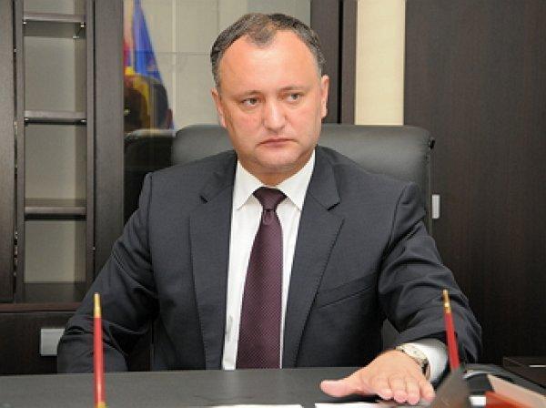 Президент Молдавии: Молдавия боится признавать Крым российским