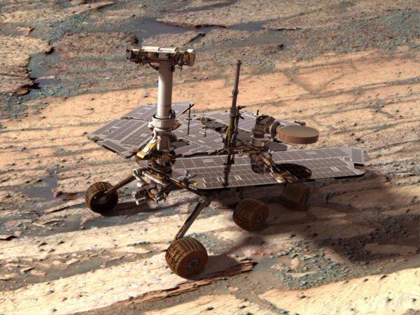 В NASA показали ФОТО спутника Марса с поверхности Красной планеты