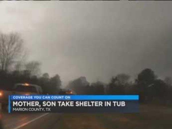 В Техасе торнадо унес пожилую американку прямо в ванне в лес: она выжила (ФОТО)