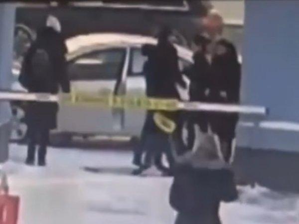 Появилось ВИДЕО избиения таксистом в Москве беременной мамы с ребенком