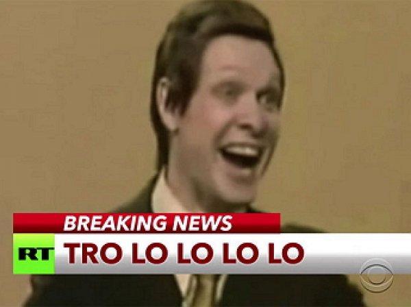 Эфир RT с песней «Трололо» Эдуарда Хиля прервал американское шоу