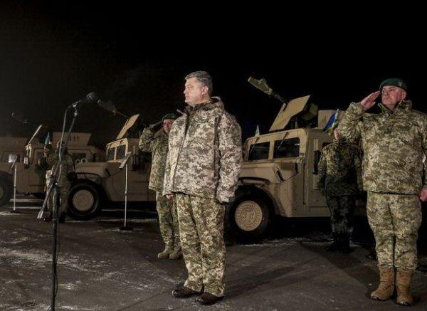 """Порошенко в Донбассе неожиданно заявил о """"временной украинской оккупации"""" (ВИДЕО)"""