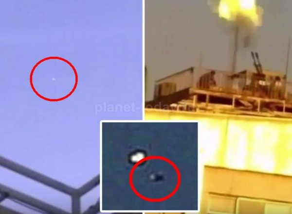 На YouTube появилось ВИДЕО расстрела НЛО иранскими военными