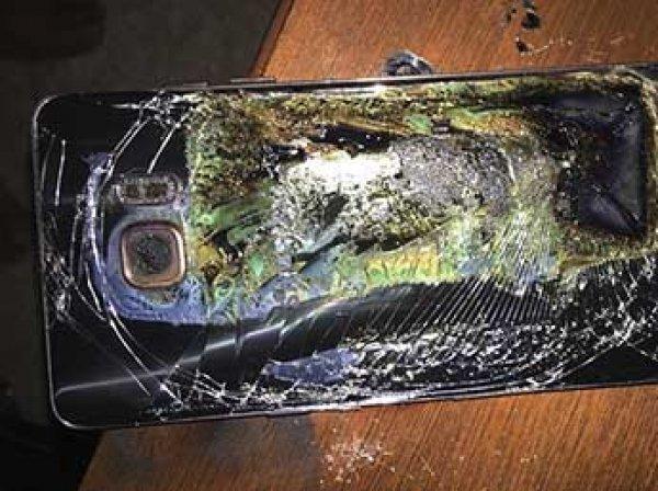 СМИ узнали причину взрывов смартфонов Samsung Galaxy Note 7