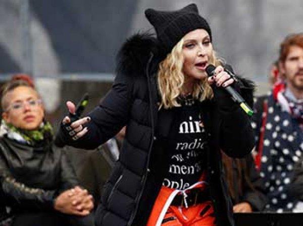 """""""Она отвратительна"""": Трамп ответил на выпад Мадонны в свой адрес"""