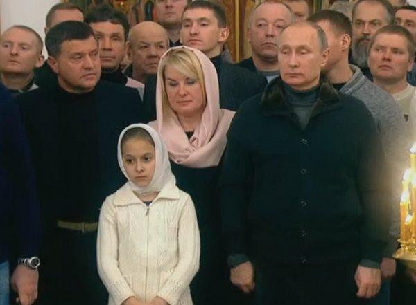 Путин поздравил россиян с Рождеством и пообещал 2017-й год, лучше чем прошлый (ВИДЕО)
