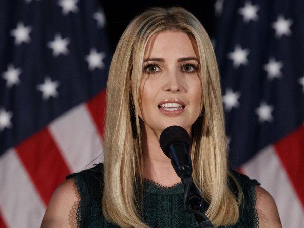 Иванка Трамп всполошила Интернет неожиданным ФОТО в кабинете отца