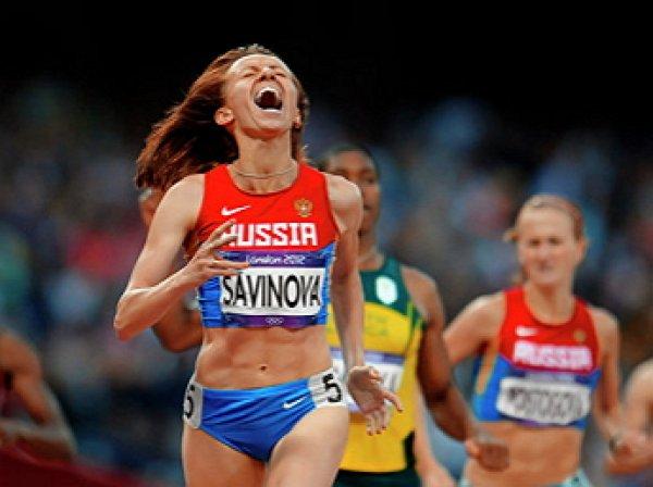 Российскую бегунью Марию Савинову лишили золота Олимпиады-2012