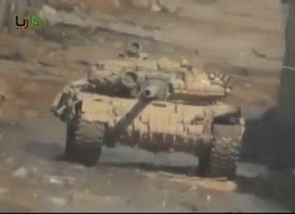 YouTube ВИДЕО работы сирийского танка Т90 изнутри появилось в Сети