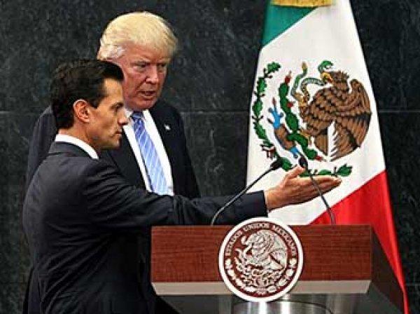 СМИ: Трамп пригрозил ввести войска в Мексику