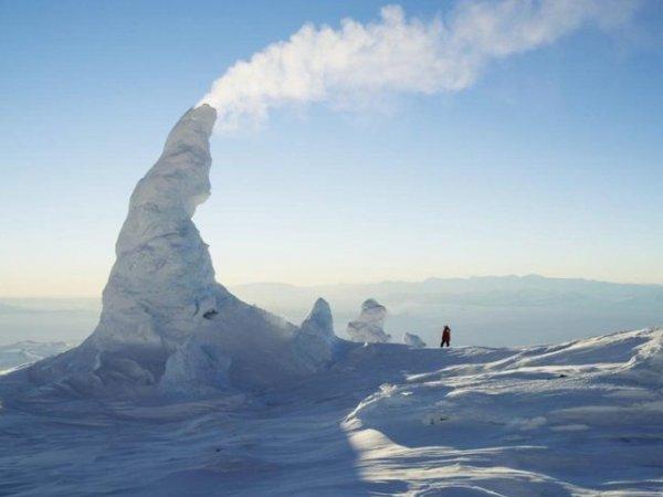 Ученые NASA ищут портал в другой мир в антарктических вулканах