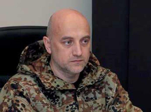 Писатель Захар Прилепин стал замкомбата ДНР