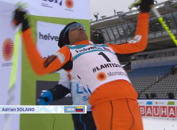 """YouTube покорило ВИДЕО забега """"худшего лыжника в мире"""" на ЧМ в Финляндии"""