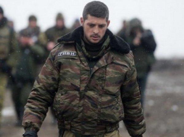 Ополченец Гиви убит в Донбассе в результате теракта (ФОТО)