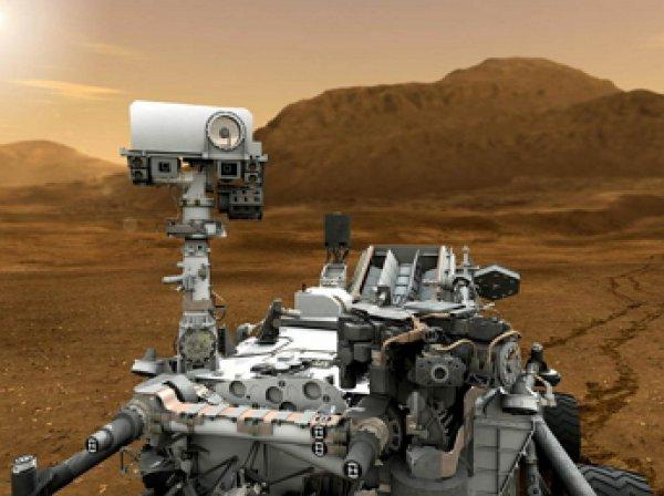 Марсоход Curiosity сделал уникальные фото песчаных дюн на Марсе.