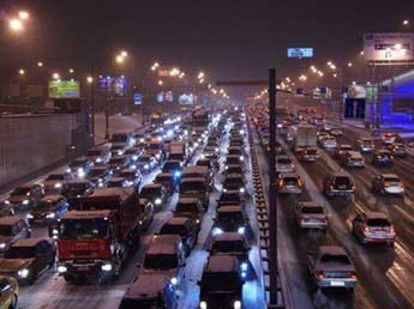 Москва вошла в ТОП-5 городов мира с самыми долгими пробками