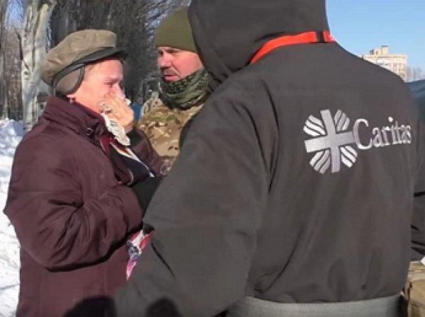 Чиновница Мариуполя сыграла роль благодарной ВСУ жительницы Авдеевки (ВИДЕО)