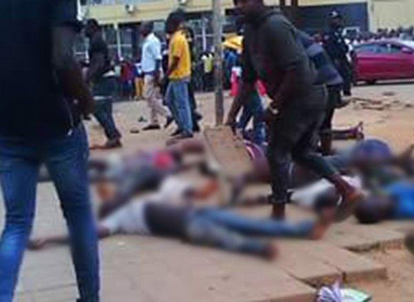 YouTube шокирован ВИДЕО давки в Анголе на стадионе, где погибли 17 фанатов