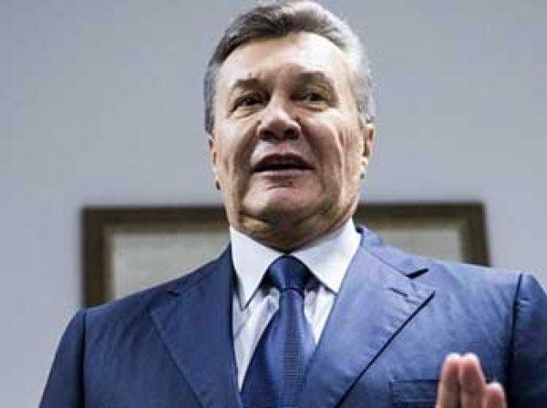 Янукович написал письмо Трампу и другим мировым лидерам
