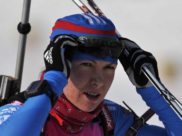Российскую биатлонистку Глазырину временно отстранили от участия в соревнованиях