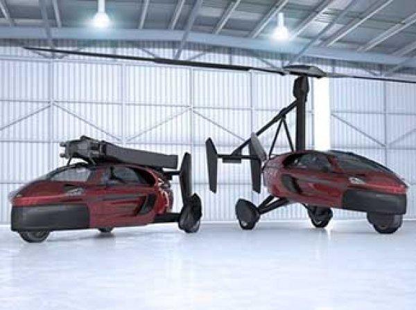 В Голландии начались продажи летающих автомобилей (ВИДЕО)