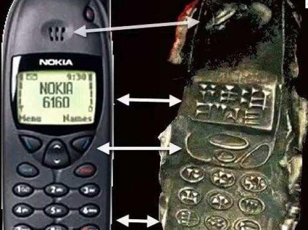 """Ученые разгадали тайну """"мобильного телефона древних шумеров"""" (ФОТО)"""