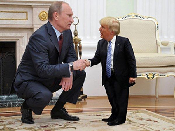 """Соцсети """"взорвал"""" мем с крошечным Дональдом Трампом (ФОТО)"""