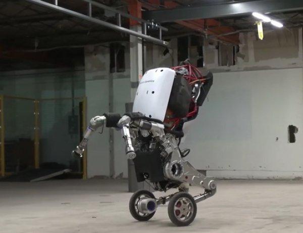 "YouTube ВИДЕО: прыгающий чудо-робот на колесах ""взорвал"" Сеть"