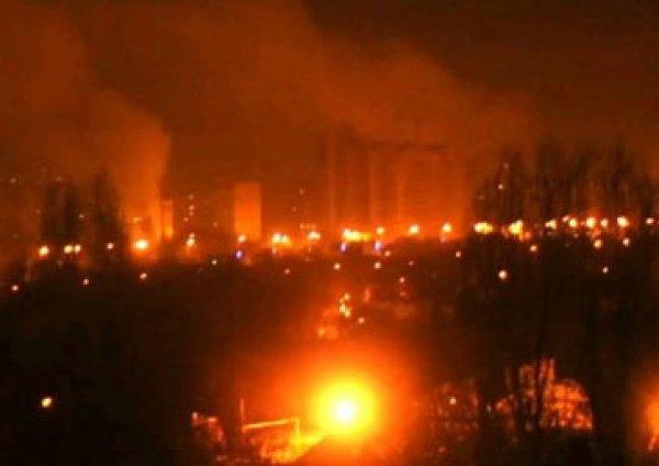 Взрыв в Донецке: двое погибших, 13 раненых (ВИДЕО)