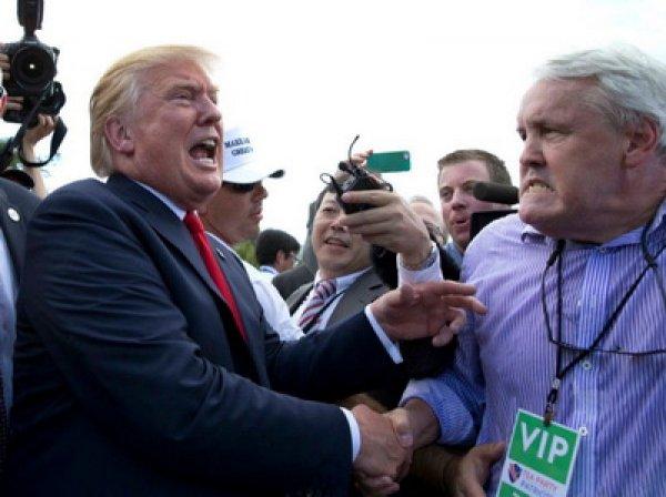 YouTube ВИДЕО странных рукопожатий Трампа стало хитом в Сети