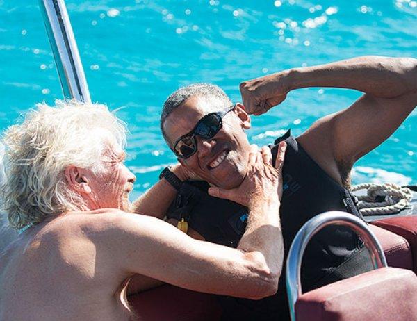 """YouTube """"взорвало"""" ВИДЕО развлекающегося с миллиардером Обамы"""