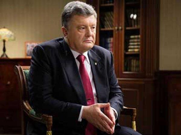 Порошенко заявил, что хочет отмены санкций против России