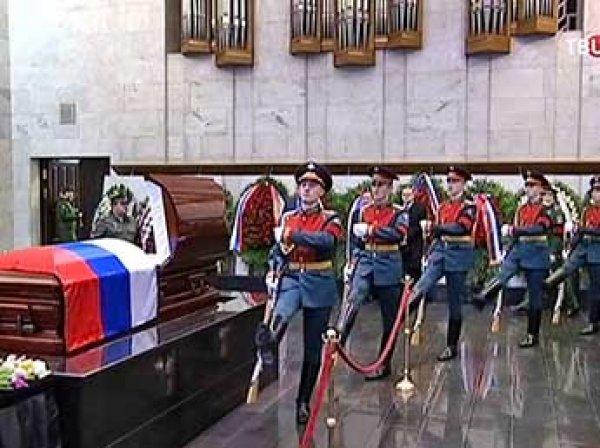 Похороны Виталия Чуркина прошли в Москве (ВИДЕО)
