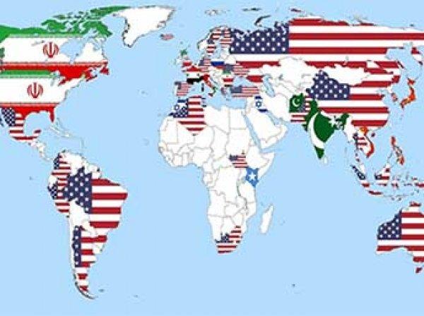 В Сети составили карту стран – агрессоров