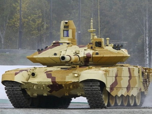 Россия поставит крупную партию танков Т-90МС на Ближний Восток