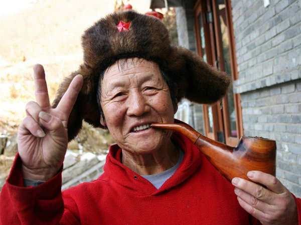 В Китае дедушка стал бабушкой в 72 года