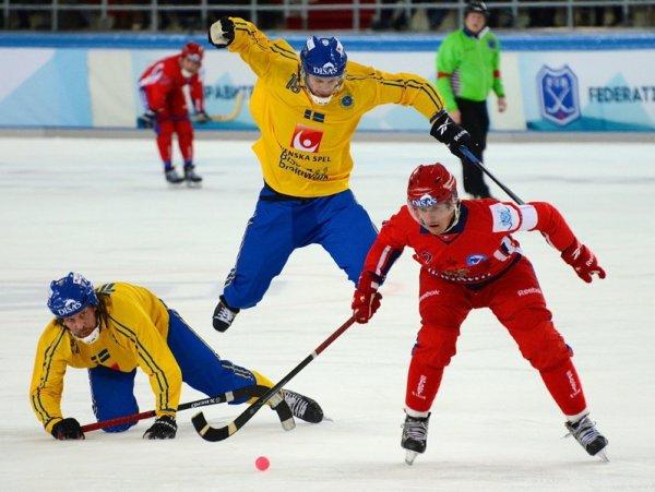 Хоккей с мячом, финал ЧМ 2017, Швеция – Россия: обзор матча от 5.02.2017, видео голов, счет  (ВИДЕО)