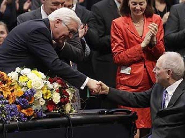 Экс-глава МИД Штайнмайер избран новым президентом Германии