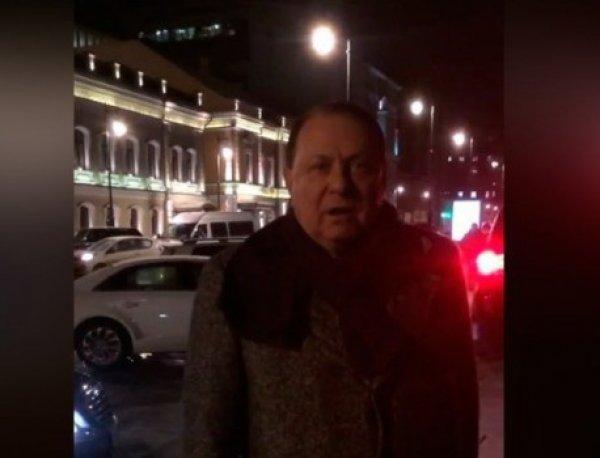 """«Ты ничтожный, несчастный мальчик»: в Москве директор """"Ленкома"""" напал на пешехода (ВИДЕО)"""