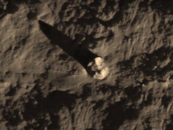 YouTube ВИДЕО упавшего на Луну корабля пришельцев стало сенсацией