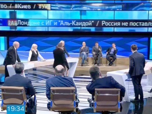 """На """"Первом канале"""" объяснили, почему постоянно обсуждают Украину и Сирию, а не проблемы России (ФОТО, ВИДЕО)"""